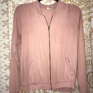 Dust pink jacket